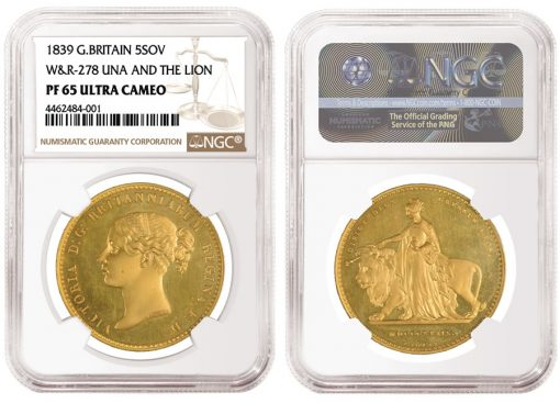 British-1839-Una-and-the-Lion-Gold-Coin