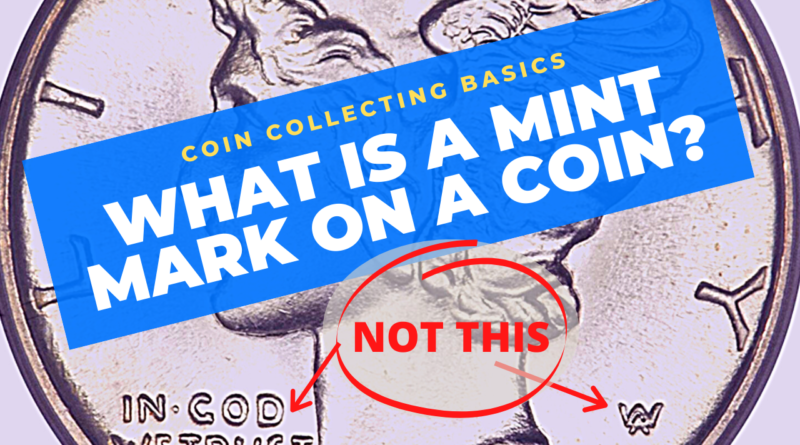 what is a mint mark on a coin
