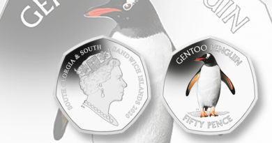 Pobjoy releases second 50-penny penguin collector coin for 2020